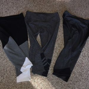 Set of 3 leggings -Capri style
